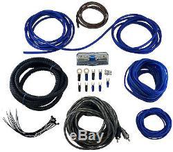 Kicker TCWRT12 Dual 12 4-Ohm Loaded CompRT Thin Profile Sub Box with 600W Kit