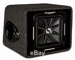 Kicker VS12L7 Loaded 12 2-Ohm Solo-Baric L7 Sub Subwoofer Package 900W Amp Kit