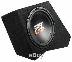 Loaded 10 MTX Subwoofer In Sub Enclosure Box For 07-16 JEEP WRANGLER JK 4-DOOR
