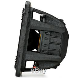 Loaded Dual Kicker 44L7S152 Car Audio Solo-Baric 15 Subwoofer Box Sub Enclosure