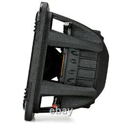 Loaded Dual Kicker 44L7S154 Car Audio Solo-Baric 15 Subwoofer Box Sub Enclosure