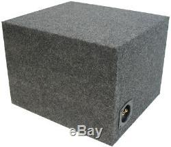 Loaded Kicker 44L7S124 Car Audio Solo-Baric 12 Subwoofer Box 750W Sub Enclosure