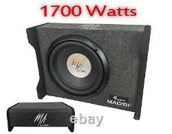 MA AUDIO 12 1500W Car Loaded Boom Bass Subwoofer extreme Box FIT most cars New