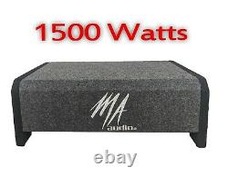 MA AUDIO 12 1500W Car Truck Loaded Subwoofer Bass box fits most cars Quality