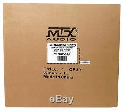 MTX 10 Loaded Subwoofer For 2007-16 Chevrolet Silverado/GMC Sierra Crew+Rockbar
