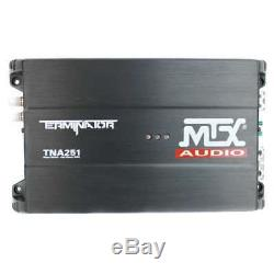 MTX 12 1200W Dual Loaded Car Subwoofer Audio with Sub Box + Amplifier (Damaged)