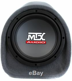 MTX AUDIO 8 240W Loaded Subwoofer Enclosure Amplified Tube Box Vented(Open Box)
