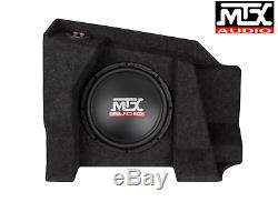 MTX AUDIO Chevy Silverado / GMC Sierra 1500/2500 Double Cab 2007-15 LOADED 10