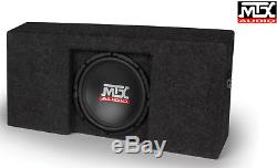 MTX AUDIO Ford F-150 SuperCrew Cab 2009-2015 LOADED 10 TERMINATOR SUBWOOFER