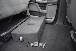 MTX AUDIO Ford F-150 SuperCrew Cab 2009-2015 LOADED 10 TERMINATOR SUBWOOFER