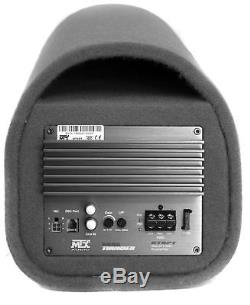MTX AUDIO RT8PT 8 240W Car Loaded Subwoofer Enclosure Amplified Tube Box Vented