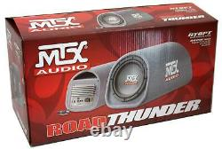 MTX Audio 8 240W Car Loaded Subwoofer Enclosure Amplified Box, Vented (Used)