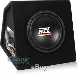 MTX Audio RTP8A 360W 8 Amplified Loaded Vented Subwoofer Enclosure Box