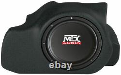 MTX FMUST05BK12A-TN 12 Amplified Loaded Car Subwoofer Box for Ford Mustang