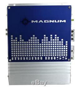 MTX Magnum 10 400W RMS Dual Car Loaded Subwoofer Sub Woofer+Box+Amp Kit Package