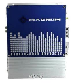 MTX Magnum MB210SP 10-Inch 400W RMS Dual Loaded Subwoofer Sub Box System (Used)