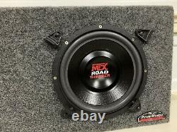 MTX Road Thunder Dual 10 Subwoofers Box 2 ohm load old school rare powerwedge