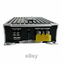MTX TNE212D 12 1200W Dual Loaded Subwoofer Box + 1500W Amplifier + Capacitor