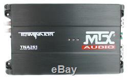 MTX TNP212D2 12 1200W Dual Loaded Car Subwoofer Audio Sub+Box+Amplifier+Amp Kit