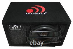 Massive Audio 8 800W Dual 4 Ohm Loaded Subwoofer Enclosure BG-8