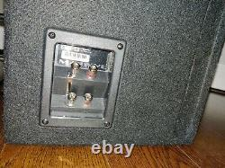 Massive Audio BG8 8 800 Watt Dual 2 Ohm Loaded Subwoofer Ported Enclosure