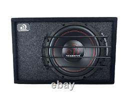 Massive Audio Bt12 12 Pre-loaded 300 Watt Rms 2-ohm Subwoofer In Ported