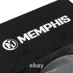 Memphis Audio 10 Loaded Enclosure Powered Subwoofer Bass System Combo SRX10SP