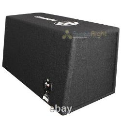 Memphis Audio Loaded Dual 12 Vented Enclosure Bass System 1000W Max SRXE212VP