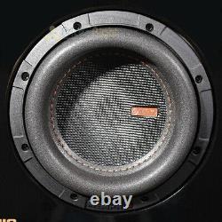 Memphis Audio Loaded Dual 6.5 Subwoofer Enclosure 2800W Max Mojo Mini MJME6D1