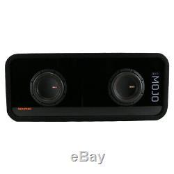 Memphis Audio MJME6D1 Dual 6-1/2 Ported Loaded DVC Subwoofer Enclosure MJM644