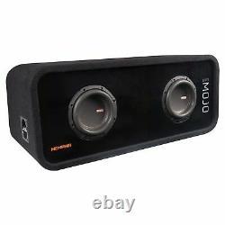 Memphis Audio MJME6D1 Dual 6.5 Loaded enclosure 1 ohm 1400 RMS