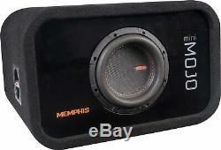 Memphis Audio MJME6S1 6-1/2 1-ohm Loaded Enclosure