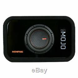 Memphis Audio MJME6S1 6-1/2 Ported Loaded DVC Subwoofer Enclosure Sub MJM622