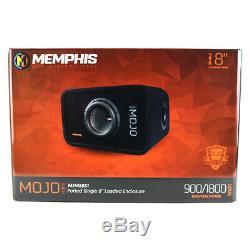 Memphis Audio MJME8S1 8 Ported Loaded DVC Subwoofer Enclosure Sub Box MJM822