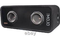 Memphis Audio Mojo Mini Dual 6.5 Loaded Subwoofer Enclosure