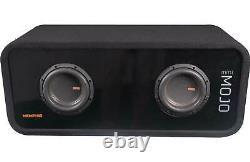 Memphis Audio Mojo Mini Dual 6.5 Loaded Subwoofer Enclosure MJME6D1