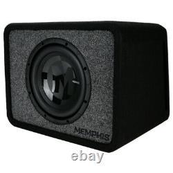Memphis Audio PRXE10S2 10 2-Ohm 250W Subwoofer Loaded Ported Enclosure NEW