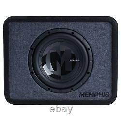 Memphis Audio PRXE10S2 Single 10 Power Reference Series Loaded Enclosure 2-Ohm
