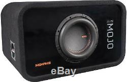Memphis Audio Ported Loaded Enclosure with 8 Subwoofer