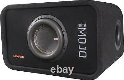 Memphis Audio Ported Loaded Enclosure with 8 Subwoofer Open Box MJME8S1