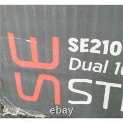 Memphis Audio SE210 Street Edge Dual 10 Loaded Enclosure 2000W & Amp Worn Box