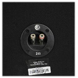 Memphis Audio SRXE212V Dual 12 1000w Vented Loaded SRX Car Subwooer Enclosure