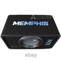 Memphis Audio Single 12 Loaded Subwoofer Enclosure M7 Series 1500W Max M7E12S1