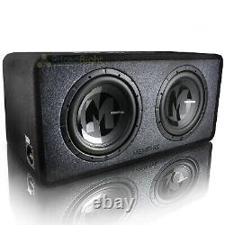 Memphis Dual 12 Loaded Enclosure 1 Ohm 1200 Watts Max Power Reference PRXE12D1
