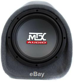 Mtx RT8PT 8-Inch 240W Loaded Subwoofer Enclosure Amplified Tube With 8 Gauge