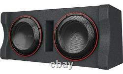 NEW Kenwood P-XW1221DHP Dual 12 Pre-loaded Subwoofer Enclosure (1000W RMS)