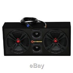 NEW QCHERO10BLACK QPower Loaded Chuchero (2) 10 speakers & (2) SuperZTweeters