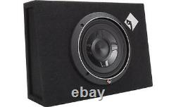 NEW Rockford Fosgate P3S-1X8 Punch Single P3 8 Shallow Loaded Subwoofer Box