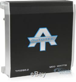 New Alpine SBT-S10V SWT Loaded Enclosure + 2-Ohm Stable 2-Channel Amp + Amp Kit