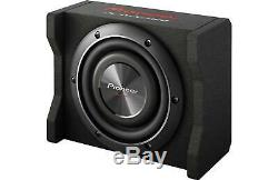 New Pioneer TS-SWX2002 600 Watts 8 Loaded Shallow Truck Subwoofer Enclosure